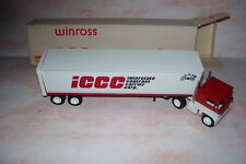 1982 ICCC Interstate Contract Carrier Corp. Winross Diecast Trailer Truck