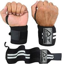 austodex Weight Lifting Wrist Support Straps - Black