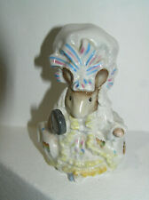 BESWICK OVAL GOLD BACKSTAMP BEATRIX POTTER LADY MOUSE BP2 FROM TAILOR GLOUCESTER