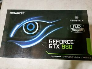 Nvidea GTX 980 GPU Graphics Card. In box and great condition