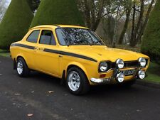 1971 Ford Escort MK 1 Mexico Daytona Yellow RS