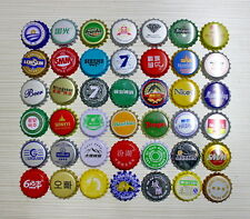100 Unterschiedliche BEER BOTTLE CAPS KRONKORKEN CROWN CAPS China & Asia ...