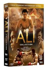 Muhammad Ali Ultimate 4 DVD Collection *NEU* BOXEN Vier dokus Cassius Clay