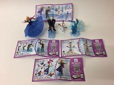 Kinder Surprise Disney Frozen Ltd Edition Complete Set of 4 BPZ China 2017 Rare