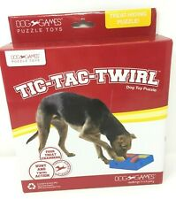 Kyjen Tic Tac Dog Treat Games Food Dispensing Hide Puzzle Training Toy