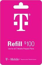 t-mobile refill 100