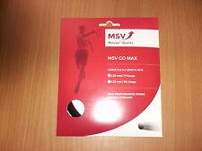 MSV GO MAX 1,20 mm (12,2 m) Tennissaite, schwarz original verpackt
