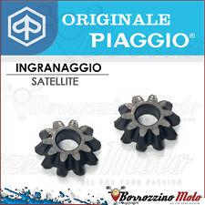 COPPIA INGRANAGGI SATELLITE DIFFERENZIALE ORIGINALE PIAGGIO APE FL - FL2 50 cc