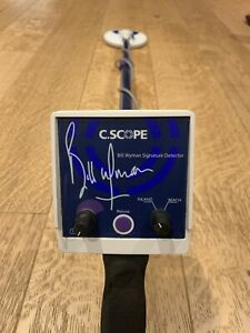 C.Scope Bill Wyman Signature Metal Detector