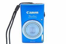 Canon PowerShot ELPH 115 IS 16.0 MP 3''SCREEN 8x Digital Camera - Blue