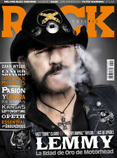 This is Rock Magazine Spain Issue 145 - July 2016 Lemmy Motorhead Ace of Spades