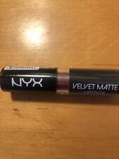 New Nyx Professional Makeup, Velvet Matte Lipstick - Color: Duchess