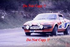 Tony Estanque & Fred Gallagher triunfo Rally Tour de Corse TR7 V8 1978 1 fotografía