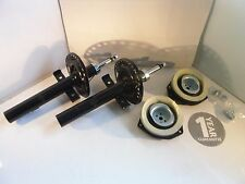 2 x Renault Scenic / Grand Scenic Front Shock Absorber + Top Strut Mount 2003-On
