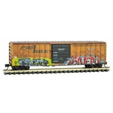 Z Scale - Micro-Trains 510 45 011 Railbox 50' Box Car w/ Slug Day Graffiti