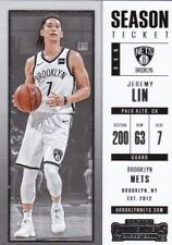 Jeremy Lin 2017-18 PANINI CONTENDERS Basketball cartes à collectionner, #17