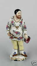 Antique Samson Porcelain Commedia Dell' Arte Figurine - Coins Clown Character PC