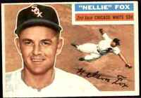 1956 Topps Nellie Fox Chicago White Sox #118