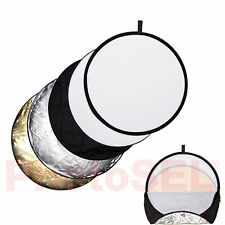 "PhotoSEL RFC53 80cm 32"" 5-in-1 Photography Collapsible Lighting Light Reflector"