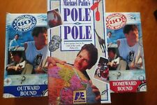 MICHAEL PALIN - AROUND THE WORLD IN 80 DAYS(both) & POLE TO POLE - VHS
