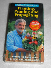 Rodale Planting Pruning Propagating Sealed VHS 1996 Perennials Flower Wildflower