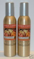 2 YANKEE CANDLE APPLE PUMPKIN CONCENTRATED ROOM SPRAY PERFUME AIR FRESHENER MIST