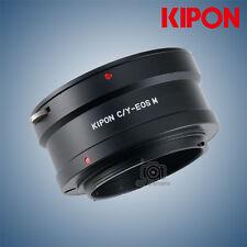 Kipon Adapter for Contax/Yashica len to Canon EOS M Interchangeable Camera