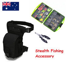 Fishing Kit Set Bag Tackle Box Small Micro Portable Pliers Waterproof Hooks Bead