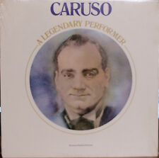 CARUSO: A Legendary Performer-SEALED1976LP BOOKLET