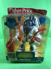 NEW 1998 FISHER PRICE RESCUE HEROES ROGER HOUSTON ASTRONAUT