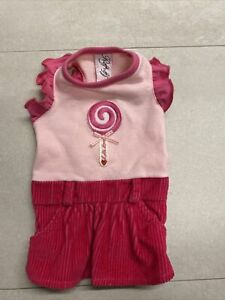 Ruff Ruff Couture Beverly Hills Pink Dress Dog Cat Clothing,