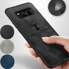 For Samsung S21 Note 20 Ultra S20 FE S10 A71 A51 Matte Leather Shockproof Cover