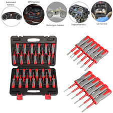 25pcs Car Wiring Connector Pin Release Extractor Crimp Terminal Removal Tool Kit