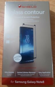 ZAGG Samsung Galaxy Note 8 InvisibleShield Glass Curved Screen Protector Black
