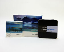 Lee Filters Foundation Holder Kit + Lee Big Stopper & Lee 77mm Wide Ring. New