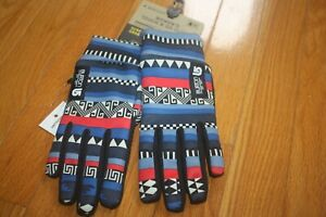 New with Tag Women BURTON Touch N Go Liner Mixtec Touch Screen Gloves SHIP FREE
