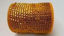 "4"" Gold Deco Mesh Ribbon"