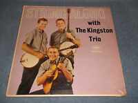STRING ALONG WITH THE KINGSTON TRIO LP CAPITAL RECORDS T1407