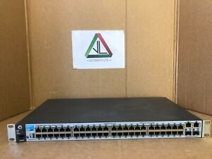 HP 2530-48 Switch with Brackets HP J9781A HP 48-Port Gigabit Switch (Inc VAT)