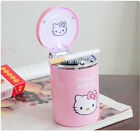 Cute Pink Hello kitty Portable Car Auto Led Light Cigarette Ashtray Night Light