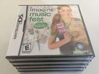 Imagine: Music Fest (Nintendo DS, 2009) DS NEW