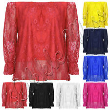 Unbranded Waist Lace Tops & Shirts for Women