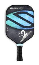 NEW SELKIRK PRIME S2 PICKLEBALL PADDLE FIBERFLEX FACE X4 POLY CORE BLUE