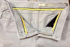 Gris pálido Terciopelo DKNY Jeans Reino Unido 8