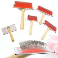 Pet Dog Cat Fur Grooming Hair Comb Brush Pin Trimmer Haired For Long Tool F0X5