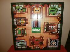 Official 1997 CLUE Detective Game Board REPLACEMENT BOARD ONLY Parker Bros