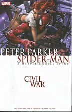 Peter Parker Spider-Man: Civil War by Crain, Sacasa & Medina 2007 TPB Marvel OOP