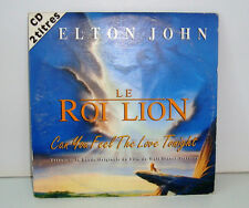 CD 2 TITRES - ELTON JOHN LE ROI LION