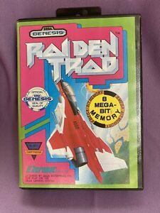 Raiden Trad 1991 Sega Genesis Authentic Original Case ONLY No Game No Manual