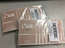 NINA RICCI L'Air Eau de Parfum EDP 1.2ml / 0.04 oz Spray Vial x 20 PCS *NEW